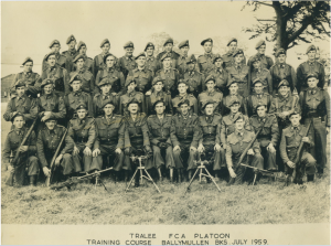 Tralee FCA Platoon 1959