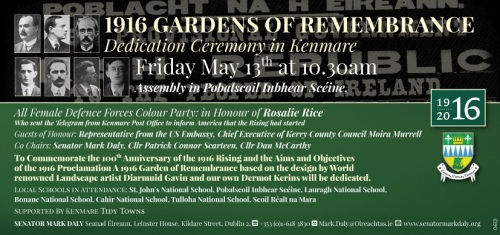 kenmare garden invitation