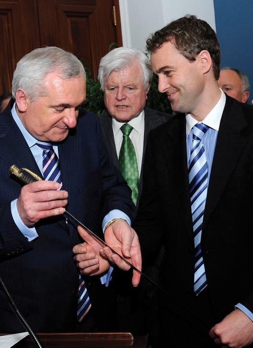 Senator Daly, Taosieach Ahern, Congressman Kennedy