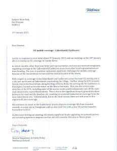 Response O2001