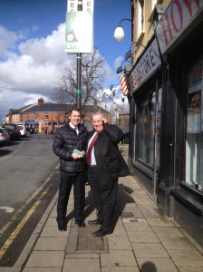 On the Campaign Trail with Councillor Noel Leonard