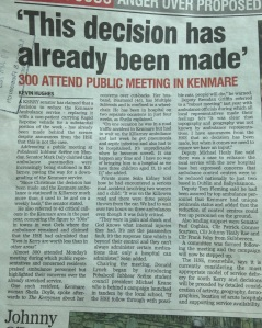 Kerry Man Ambulance Article