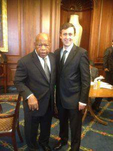 Senator Mark Daly and Congressman John Lewis