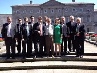IAA Outside Leinster House