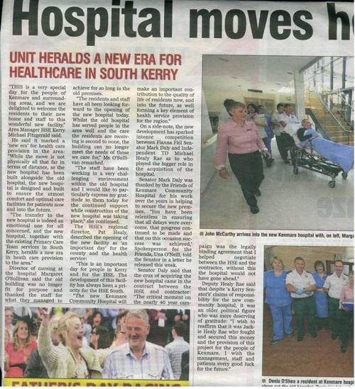 Kenmare Hospital