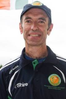 Tony Gartland, Recipient of Ireland's first Liver Transplant, and Silver Medallist at the Transplant Games in South Africa (Picture via The Irish Times)