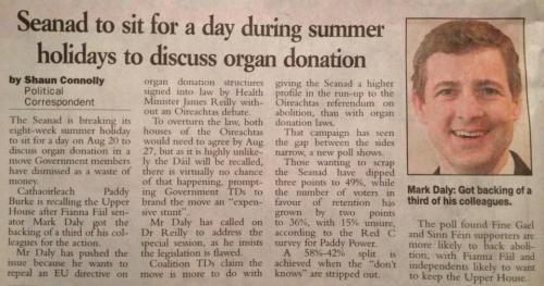 Irish Examiner 10 August