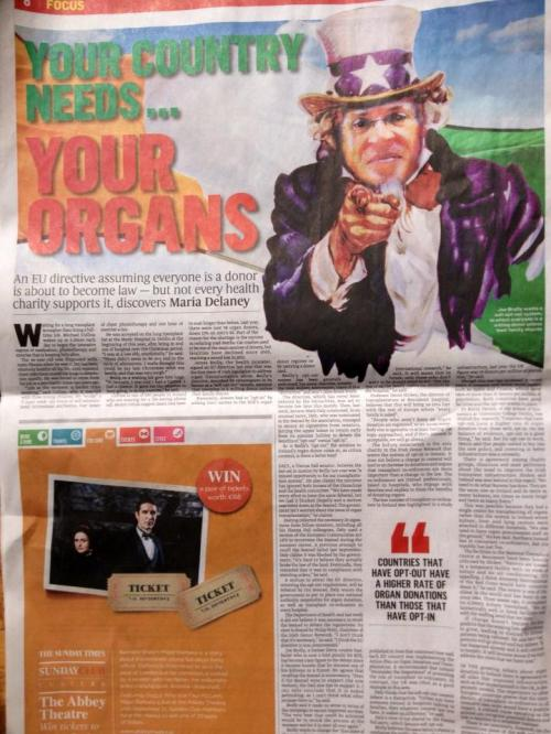 The Sunday Times: Sunday August 11th