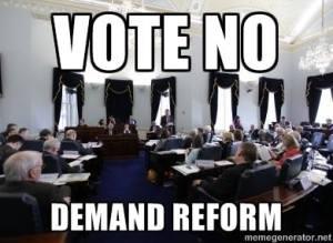 Vote NO Demand Reform