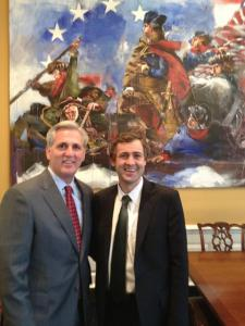 Mark with Kevin McCarthy
