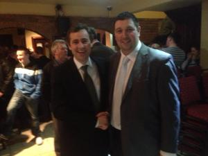 Senator Daly with Niall Kelleher