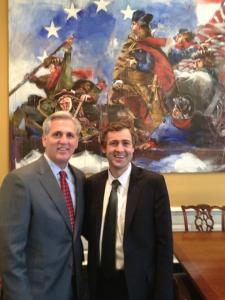 Senator Daly and Congressman McCarthy