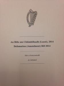 Defamation Bill