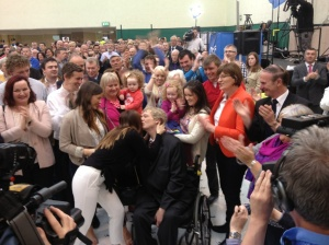 Brian Crowley MEP elected for fifth time in 2014.