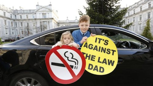 smoking ban 2015 car