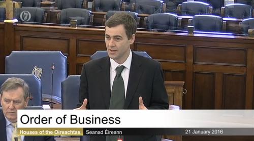 21-1-16 order of business Seanad Éireann, Houses.png
