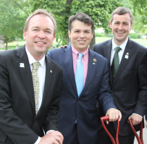 Senator Daly with Congressmen Mick Mulvaney and Brendan Boyle