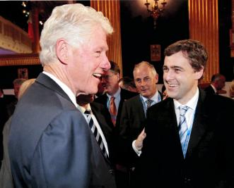 Senator Mark Daly meets Bill Clinton.png