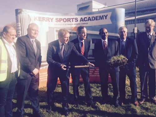 Turning the sod Kerry Sports Academy